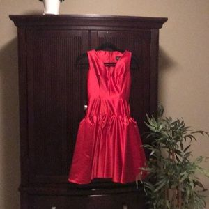Fantastic red dress. Only worn a few times.